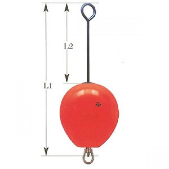 Boya para fondeo inflable con herrajes Diametro 540 mm