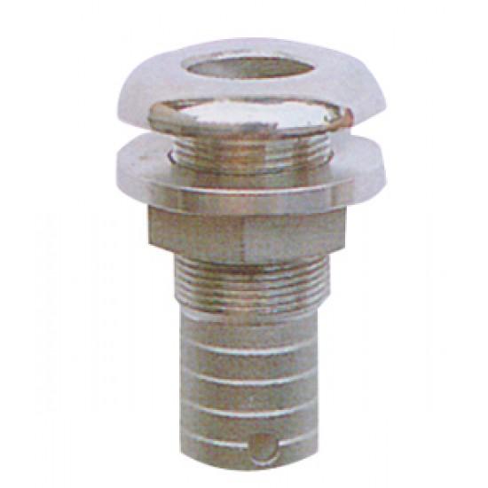 Pasacascos conexión 16mm acero inoxidable