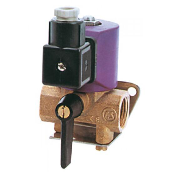 Electrovalvula Homologada para agua o combustible 24V, 600lt/h