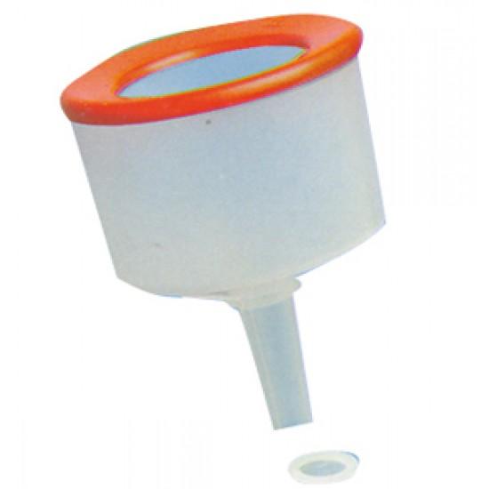 Embudo Transparente con filtro 180mm