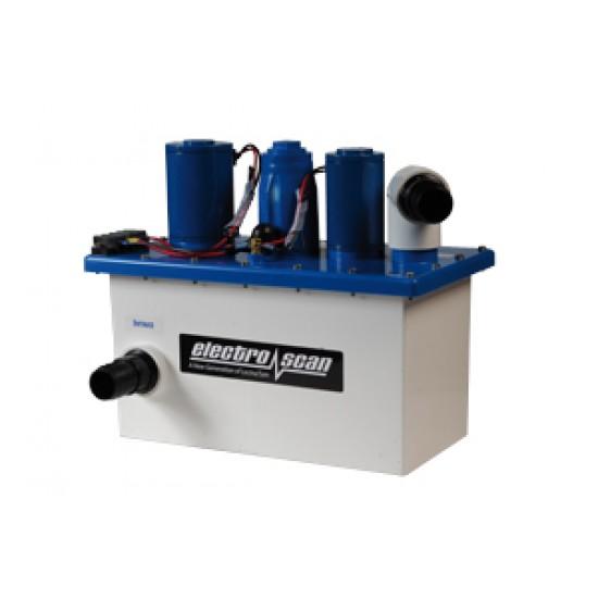 Sistema Electro Scan depurador de aguas negras 24V para Inodoros Náuticos