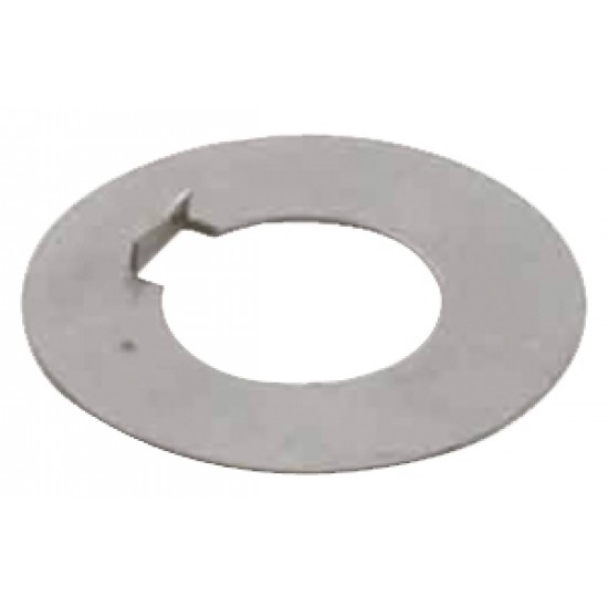 Arandela inox para montaje de anodos radice en eje de; 22-25mm