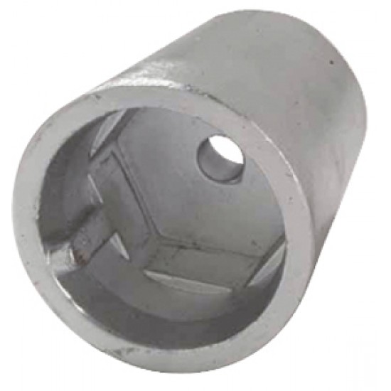 Anodos - Anodo radice hexagonal para eje de  30 mm