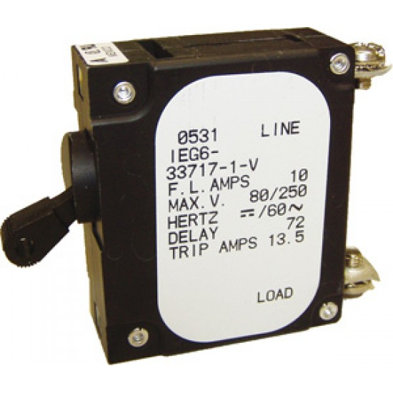 Interruptor Magnetotermico10 Amp.
