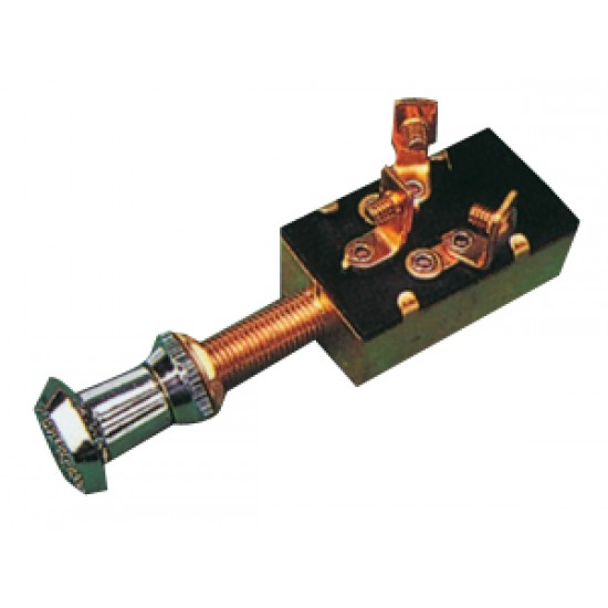 Interruptor tirador marino On-Off-pulsador 20amp