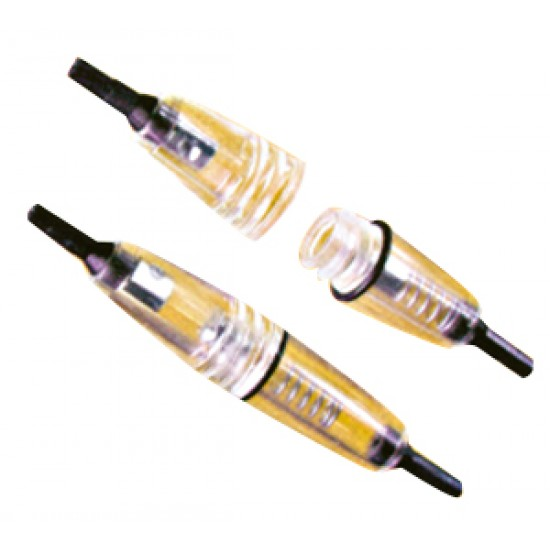 Portafusibles Náutico en Linea Transparente 6,3xL32 mm