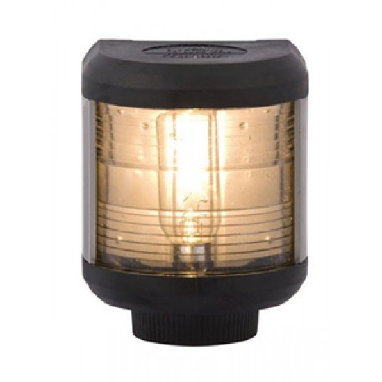 Luz de Navegacion Aquasignal S40 carcasa Negra señal Proa