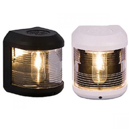 Luz de Navegación Aquasignal S41 carcasa Negra señal Proa