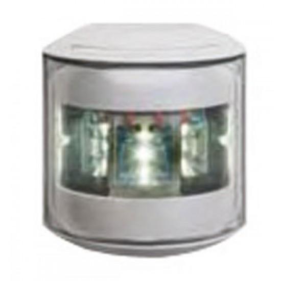 Luz de navegacion Led Aquasignal S43 Carcasa Blanca señal POPA