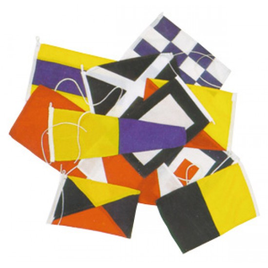 Codigo Internacional de Banderas 30x45 cm