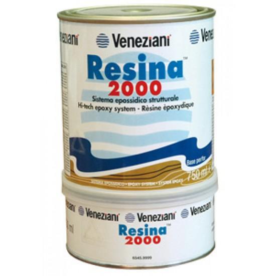 Resina epoxi Veneziani Resina 2000 1.5 Lt