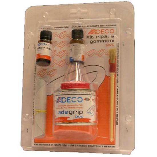 Kit reparación neumáticas Adeprene PVC naranja