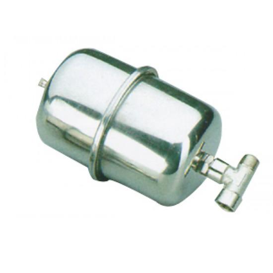 Acumulador de presion inox 2,1 lt para bombas de Agua a bordo