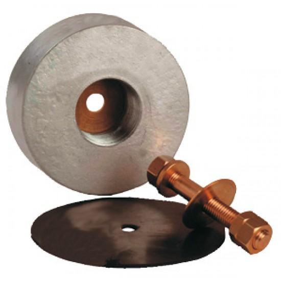 Anodos - Anodo de Transom con tornillo y junta 135x47 mm