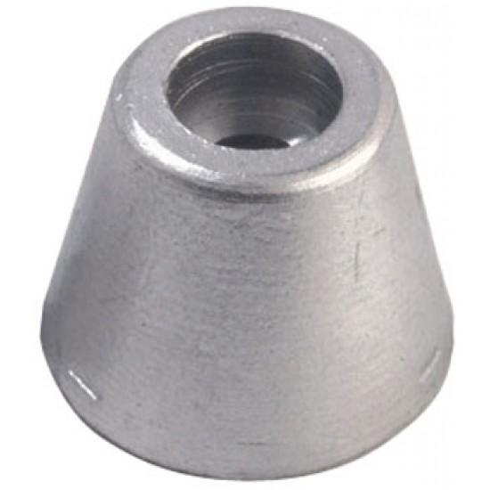 Anodo Ogive Aluminio -Sleipner, Spinner 26mm