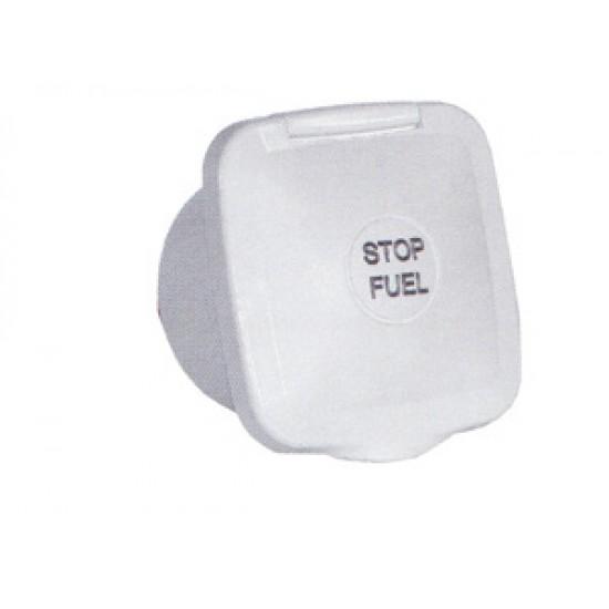 Caja ABS Blanco para Montaje de Cable Tirador B14