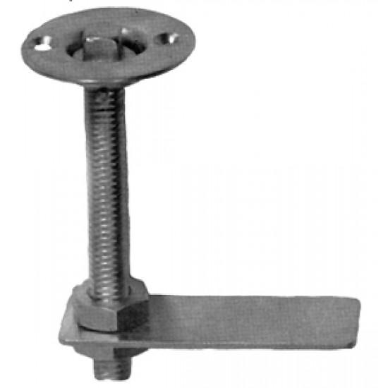 Cerrojo Con llave Flat tumbler 30mm