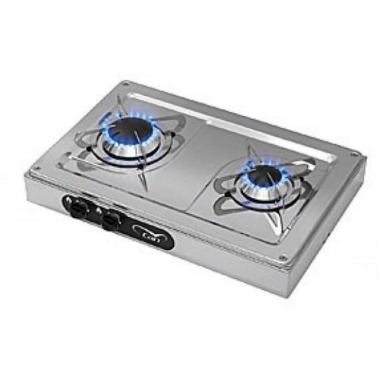Cocinas - Cocina de Gas Inox Can para Barcos con dos quemadores