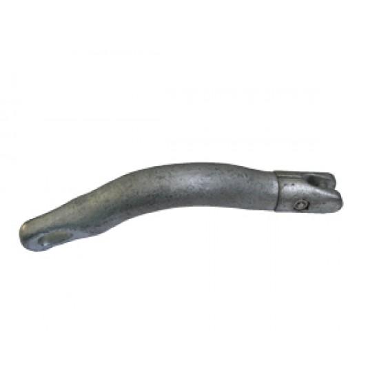 Conector Galvanizado Curvo para Anclas Douglas Marine, Cadena 10-12 mm