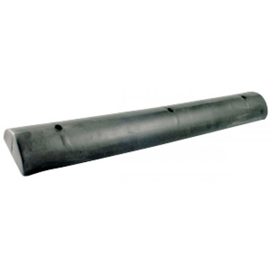 Defensa pantalán recta 830mm negra