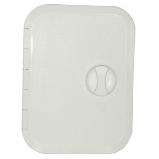 Escotilla blanca PVC 270x375mm