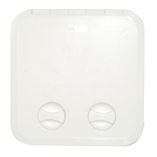 Escotilla blanca PVC 250x607mm