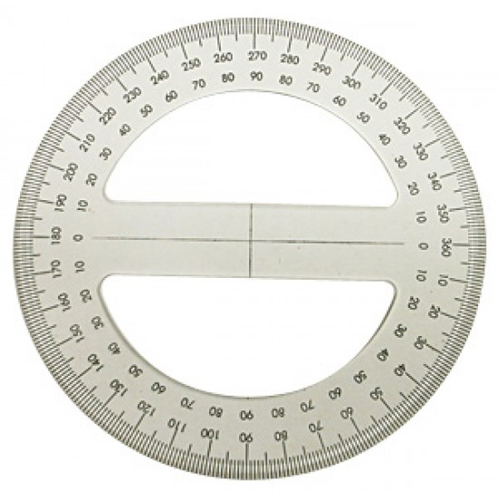 Goniometro  360º 130mm
