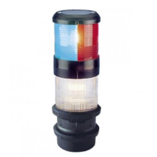 Luz de Navegacion Combiinada S40 Tricolor + todo horizonte