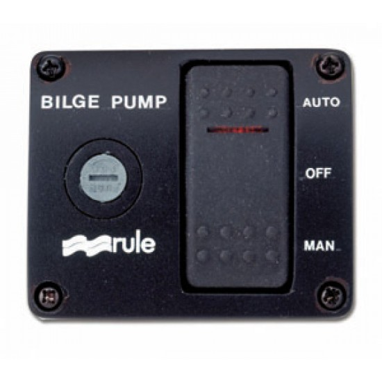 Panel interruptor bilge pump Rule
