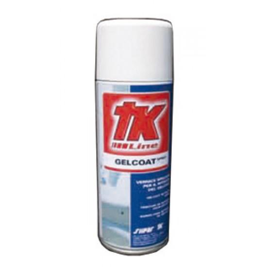 Pintura spray Gelcoat TK blanco