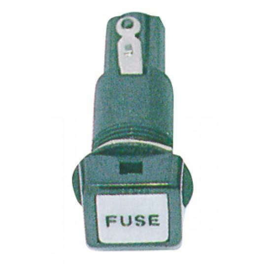 Portafusibles empotrable 10A, 6,3mm