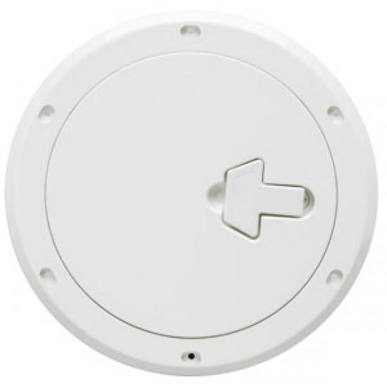Registro Náutico de Inspección Redondo ABS BLANCO 265 mm