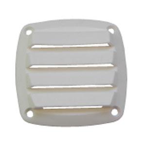 Rejilla Náutica Ventilación PVC blanco 76 x 76 mm