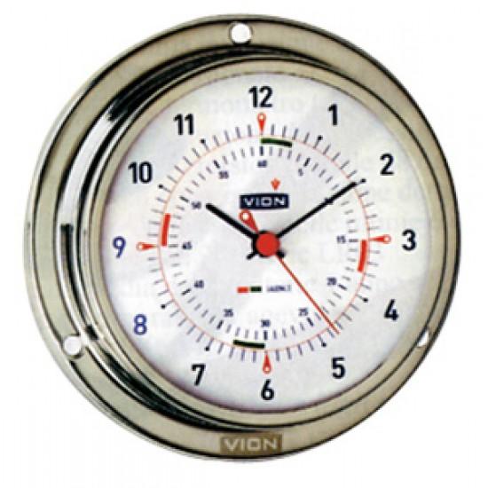 Reloj Nautico Vion inox 72 mm Quartz