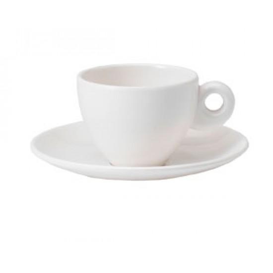Set 2 pocillos de Cafe Náuticos en Melamina, Modelo White Dreams Gimex