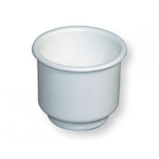 Soporte Náutico Blanco empotrable para Latas Refresco