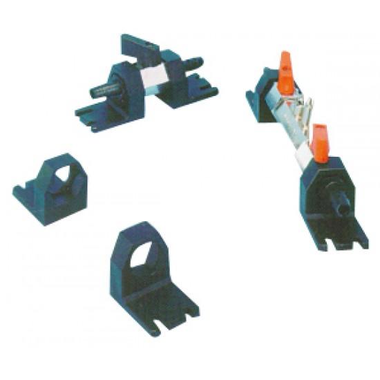 Soporte Náutico PVC para Válvulas conexiones Combustible