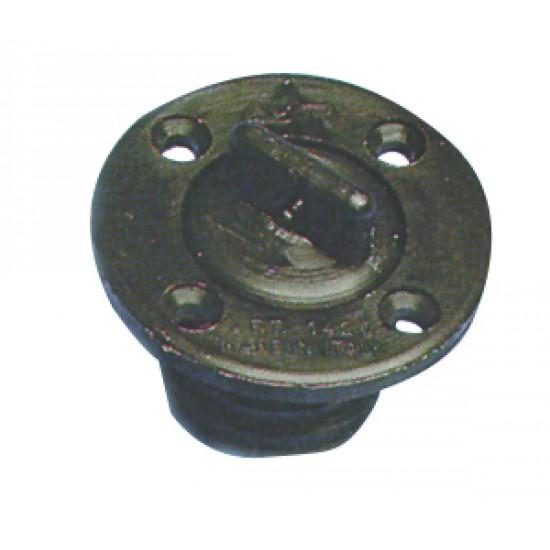 Tapon Náutico de pvc negro 24 mm