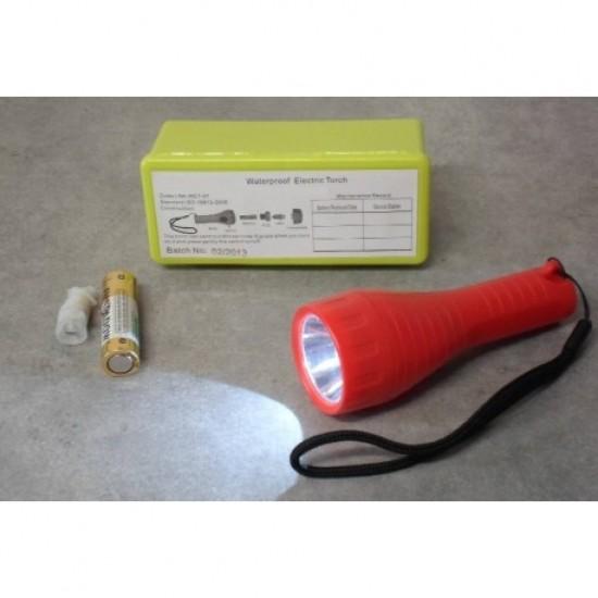 Balsas - LINTERNA LED/BAT. ALKALINA P/BALSA SALV.